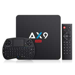 Box Android TV Bqeel Max - AX9, 2 Go RAM, 16 Go, Android 7.1 (Vendeur tiers)