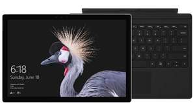Tablette Microsoft Surface Pro - i5, 128 Go SSD + clavier Type Cover noir
