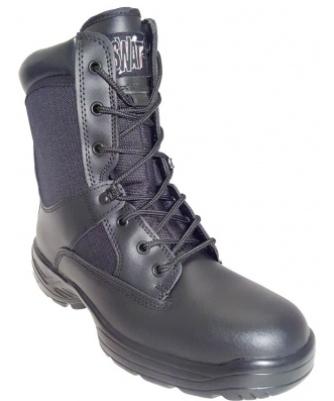 Rangers SWAT ZIP en cuir & toile - Différentes tailles
