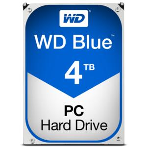 "Disque dur interne 3.5"" Western Digital Blue - 4 To, 5400 rpm, 64Mo cache"