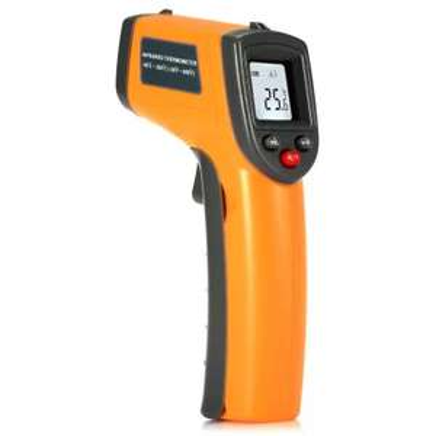 Thermomètre infra-rouge sans-contact GS320 - jaune