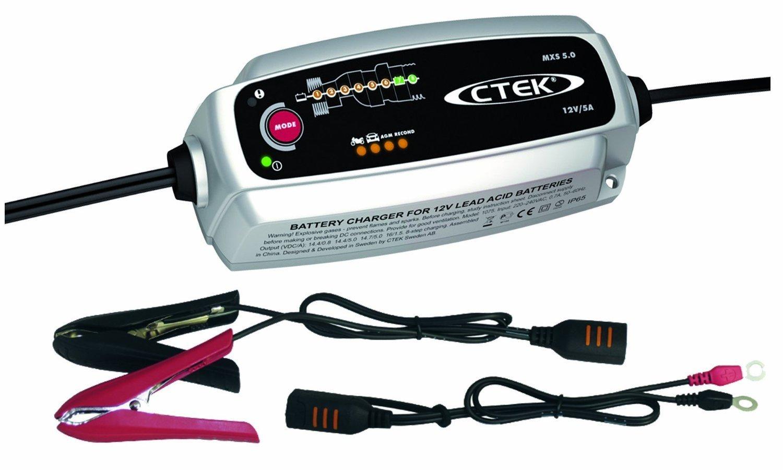 Chargeur de batterie auto Ctek MXS 5.0