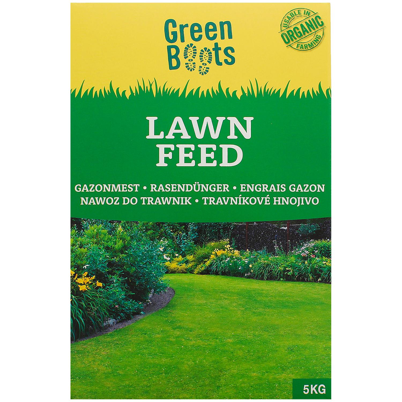 Sélection d'articles pour le jardin - Ex : Engrais pour gazon BIO Green Boots (5 kg)