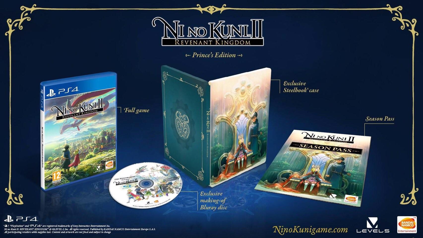 Ni no kuni II : L'Avènement d'un nouveau royaume - Édition Prince sur PS4