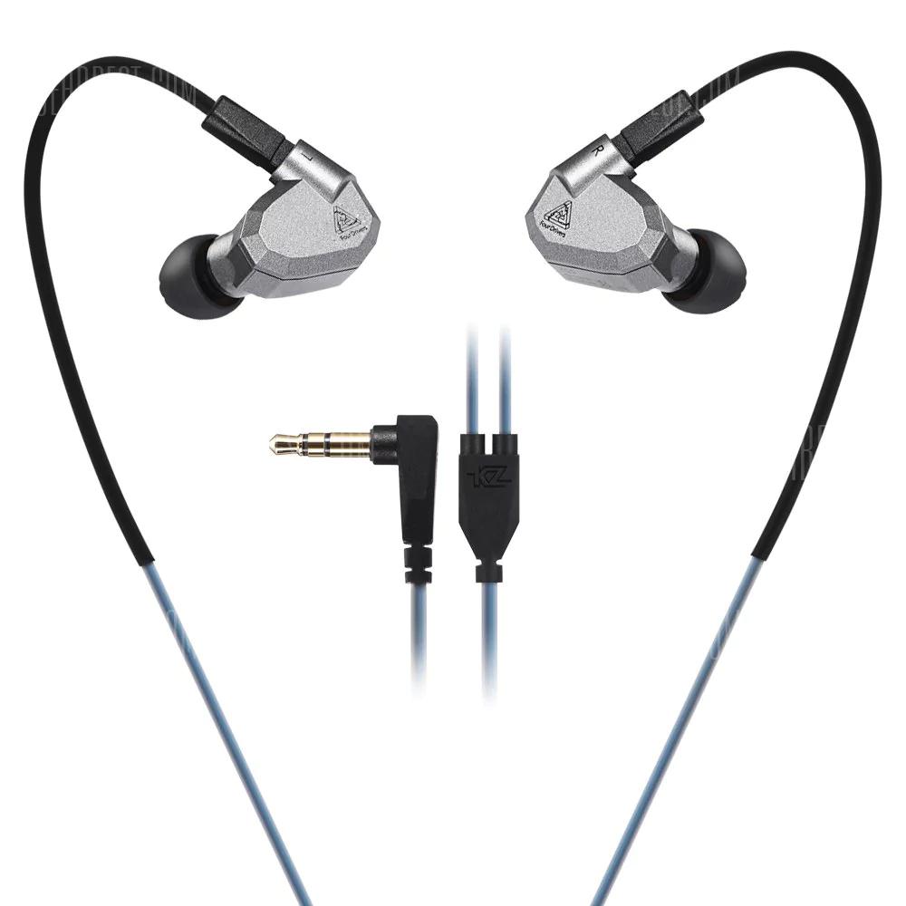 Écouteurs intra-auriculaires KZ ZS5 - noir