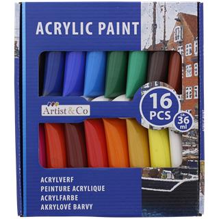Sélection de produits en promotion - Ex: Kit Peinture acrylique - 16 pièces