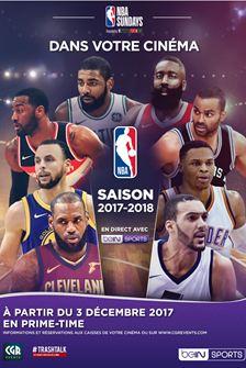 [Carte CGR] Place de cinéma pour suivre en direct les matchs de la NBA avec Bein Sports