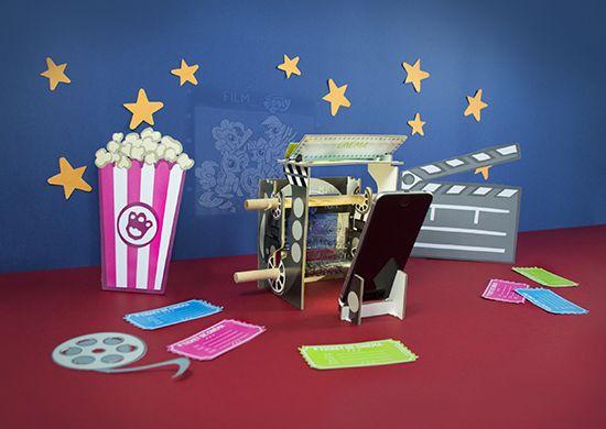 Kit Educatif Cinéma Gulli - 3 à 12 Ans (Frais de Livraison inclus)