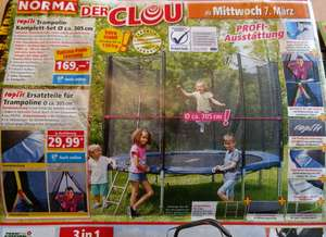 Trampoline + filet protection (Frontaliers Allemagne)