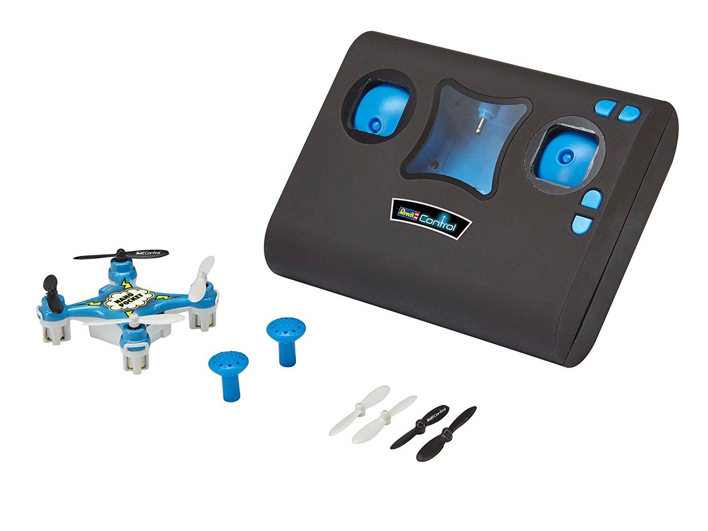 Drone Quadcoptère Nano Pocket Revell Control - Bleu