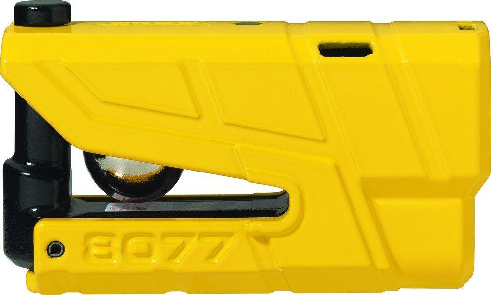 Bloque Disque Moto avec alarme Abus 8077 - Jaune