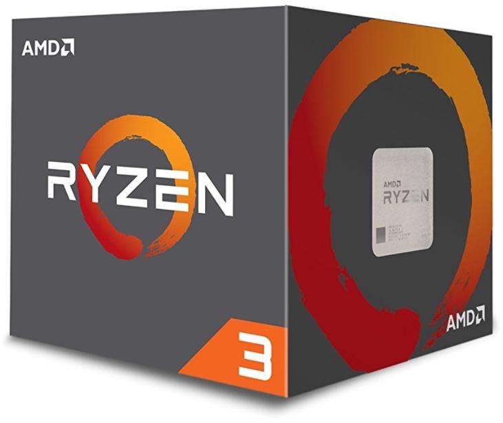 Processeur AMD Ryzen 3 1200 Wraith Stealth Edition (3.1 GHz) - Socket AM4