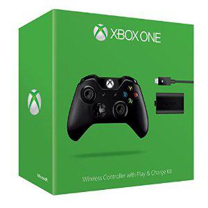 Manette sans fil + Play & Charge Kit pour Xbox One (avec ODR 15€)