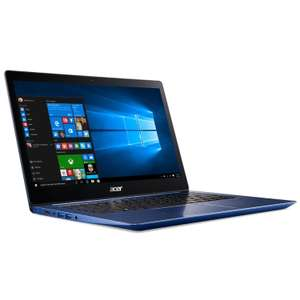 "PC portable 14"" full HD Acer Swift 3 SF314-52-70QS - i7-7500U, 8 Go de RAM, 256 Go en SSD, bleu"