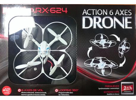 Mini drone Ikawa ARX-624 - 6 axes
