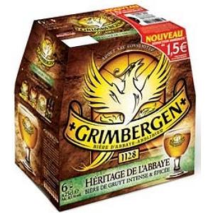 Pack de bière Grimbergen Héritage 6 x 25cl (via bon de réduction de 1.5€) - Brest (29)