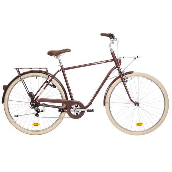 Vélo de ville Btwin Elops 520 cadre haut Bordeau - Cergy (95)