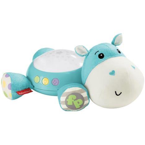 Veilleuse bébé Hippo Douce Nuit Fisher Price Bleu ou rose (via 14.95€ sur la carte Auchan)