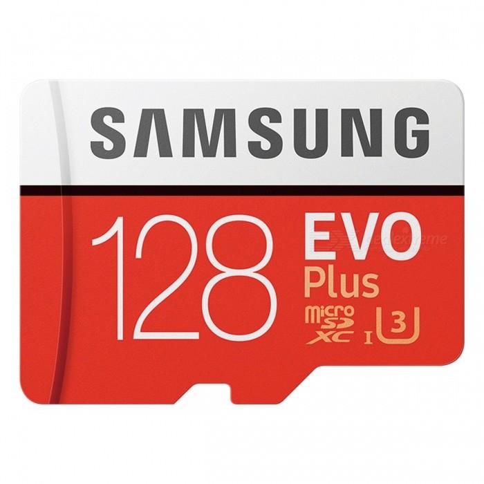 Carte MicroSDXC Samsung EVO Plus U3 (Jusqu'à 100Mo/s) - 128 Go (volumerate.com)