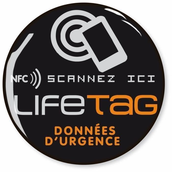 Puce NFC pour 1er secours à coller