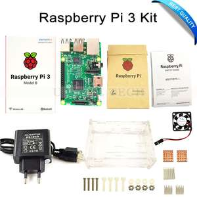 starter kit raspberry pi 3 b carte de d veloppement. Black Bedroom Furniture Sets. Home Design Ideas