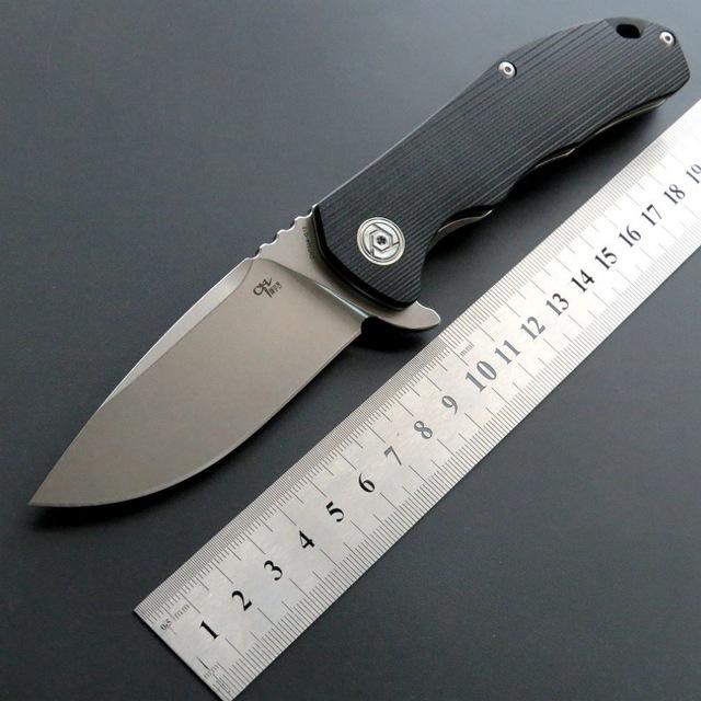 Couteau pliant Eafengrow CH3504 - lame en acier D2 de 9cm (tarif livré)