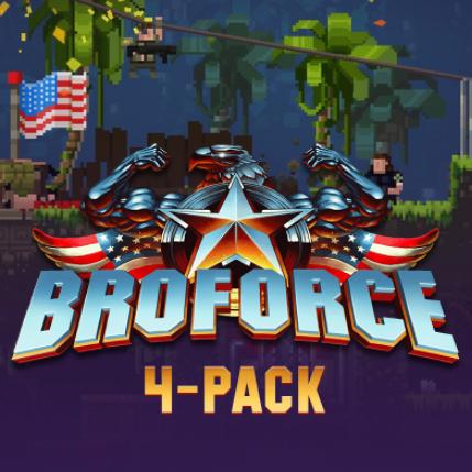 Broforce 4-pack: 4 clés du jeu sur PC (Dématérialisé - Steam)