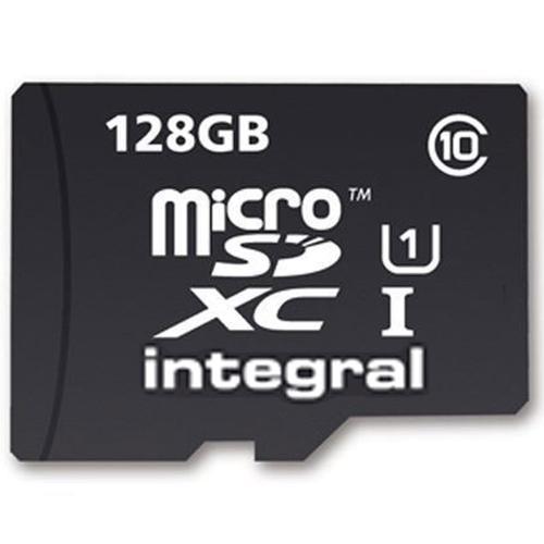 Carte MicroSDXC Integral Ultima Pro UHS-I 128 Go + Adaptateur SD
