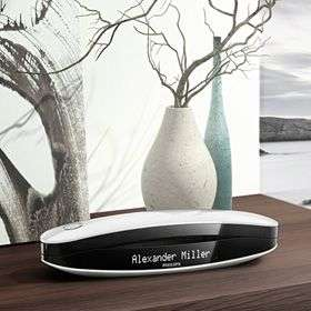 """Téléphone Fixe 1.8"""" Sans-fil Philips Luceo Blanc / Noir"""