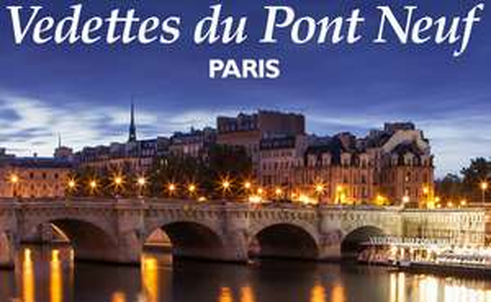 billet croisière vedettes du pont neuf paris