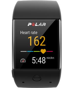 Montre GPS sportive connectée Polar M600 (coloris noir uniquement) avec cardio intégré - Android