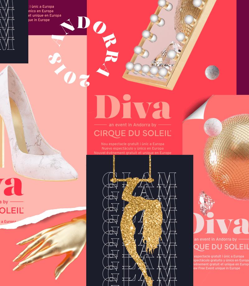 Place Gratuite Debout pour le nouveau spectacle Diva du Cirque du Soleil
