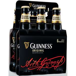2 packs de Bières Guinness Original - 2 x 6*25cl