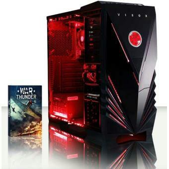 "PC Vibox Ultra Package 11A - AMD Athlon 64 FX A8-7600 - 8 Go de RAM, 1 To HDD, 120 Go SSD, Radeon R7 (Avec Ecran 22"", Casque, Clavier et Souris, Sans OS)"