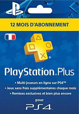 Abonnement PlayStation Plus pour PS3, PS4 et PS Vita - 12 mois (Dématérialisé)