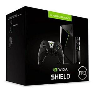 Station multimédia Nvidia Shield TV Pro - 4K HDR, RAM 3 Go, 500 Go + Télécommande et Manette