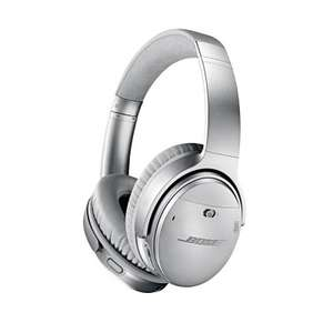 Casque Audio Sans-fil Bose Quietcomfort 35 II Argent à Réduction de Bruit  - Bluetooth
