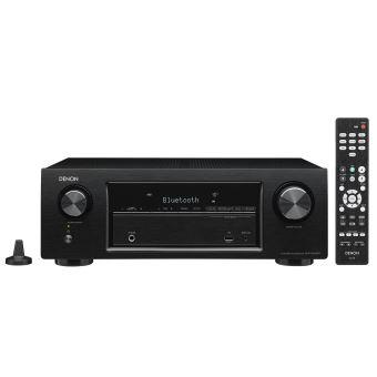 Ampli-tuner Home Cinéma 5.2 Denon AVR-X540BT Noir