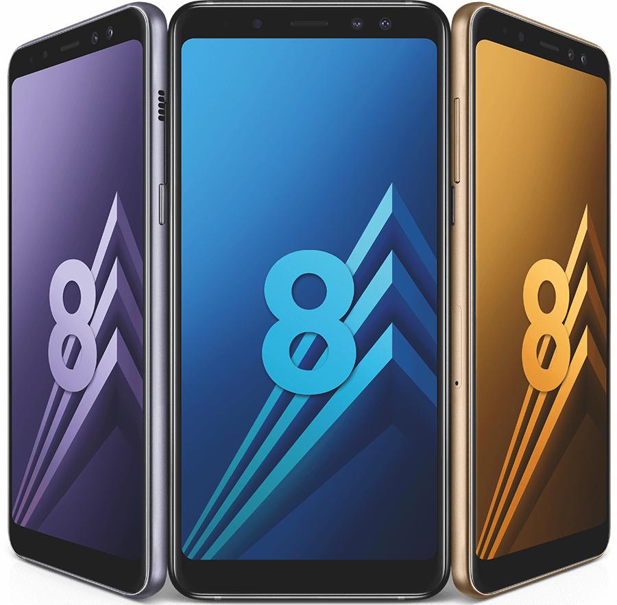 """[Adhérents] Smartphone 5.6"""" Samsung Galaxy A8 (2018) - Full HD+, Double SIM, RAM 4 Go, ROM 32 Go (via reprise de votre ancien téléphone + ODR de 70€) + 40€ offerts en chèque-cadeau"""