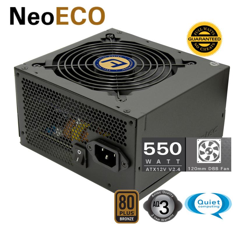 Alimentation PC Antec Neo ECO 550M 80+Bronze Semi-modulaire