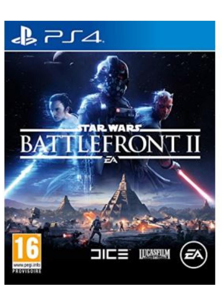 Jeu Star wars Battlefront ll sur PS4