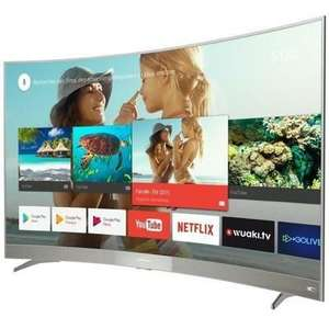 TV 65'' Thomson 65US6106  - 4K - Ecran incurvé - Android TV