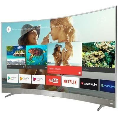 TV 65'' Thomson 65US6106  - 4K - Ecran incurvé - Android TV