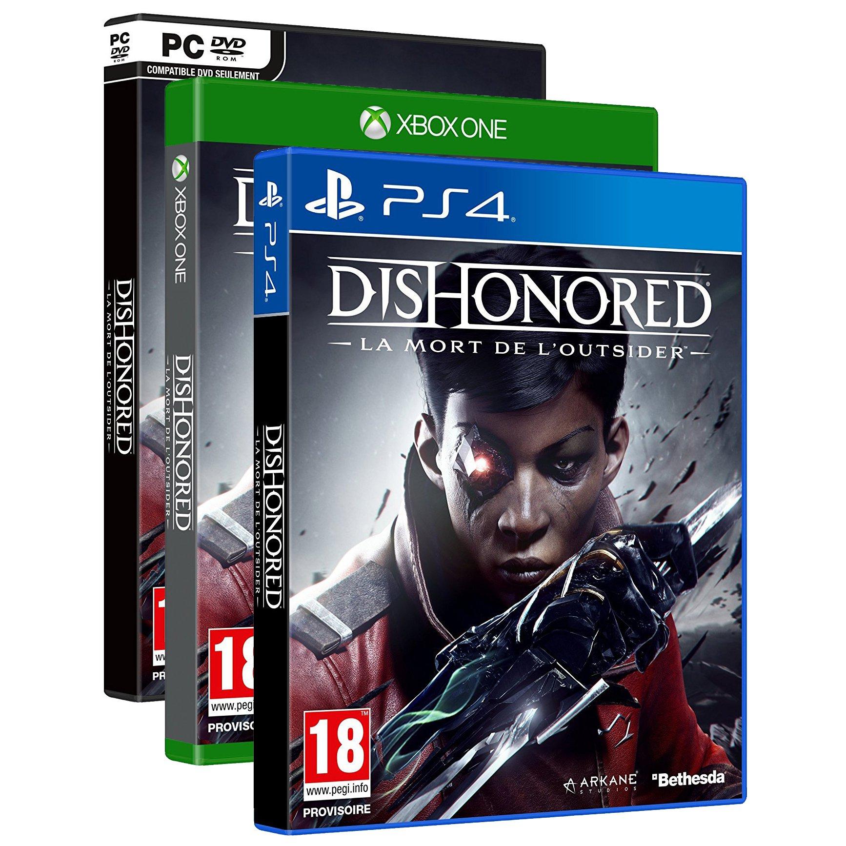 [Adhérents] Dishonored La mort de l'Outsider sur PC, PS4 ou Xbox One