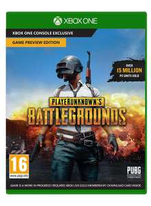 PlayerUnknown's Battlegrounds (PUBG) sur Xbox One