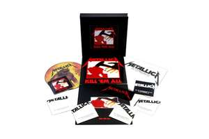 [Prime] Coffret Metallica Kill 'Em All - 4 vinyles + 5 CDs + DVD + hardbook