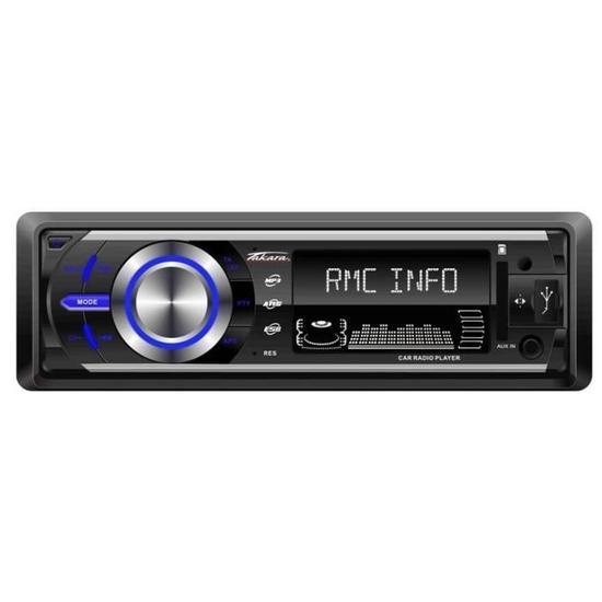 Autoradio Takara RDU1540 - Bluetooth, USB, avec télécommande (Via ODR de 20€)