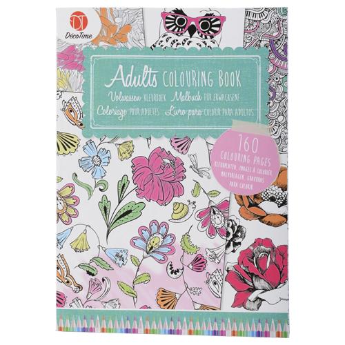 Cahier de coloriage pour adulte 48 pages