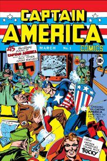 Sélection de comics numériques gratuits (VO) (Avengers, Hulk, Black Panther...). Ex.:  Captain America Comics (1941-1950) #1