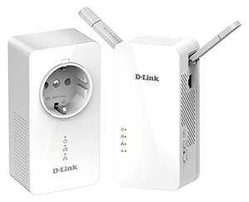 Kit de 2 adaptateurs CPL Gigabit Wi-Fi AC 1200 D-Link DHP-W611AV